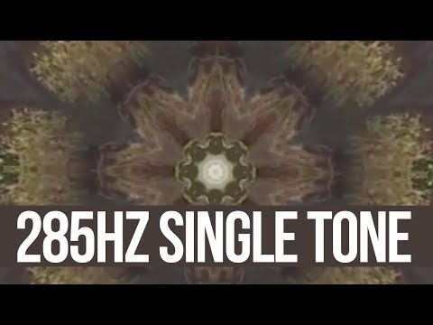 285Hz (Single Tone) - Solfeggio Harmonics Frequency - QUANTUM COGNITION