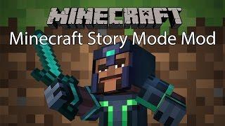 getlinkyoutube.com-Minecraft Mod รีวิว - มอดมายคราฟโหมดเนื้อเรื่อง | Minecraft Story Mode Mod [1.8]
