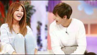 getlinkyoutube.com-BTS V (Kim Taehyung) and Apink Jung Eunji 2015