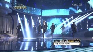 KBS Music Festival - Rainism - Kim Hyun Joong [Dec 30th, 2011]