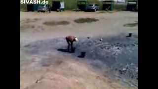 getlinkyoutube.com-Целебный источник с розовой водой на западе Сиваша