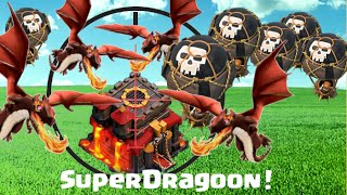getlinkyoutube.com-Clash of Clans | SuperDragoon | NEW Attack Strategy Imported From Finland!