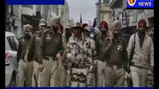 CM Badal De Lambhi Halke Me Police Ne Kio Nikala Flag March Dekho Divta Punjab TV