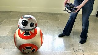 getlinkyoutube.com-XRobots - Working Star Wars BB-8 droid Prototype PART 5, Improving Stability