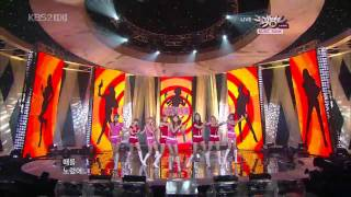 getlinkyoutube.com-【HD Live】少女時代SNSD - 훗 (Hoot) + Winner (101119)