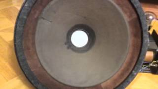 getlinkyoutube.com-Speaker field coil  Atelier Rullit type ru- 44022 Klangfilm