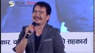 getlinkyoutube.com-Takme Buda (Wilson Bikram Rai) host INAS Award in comic style