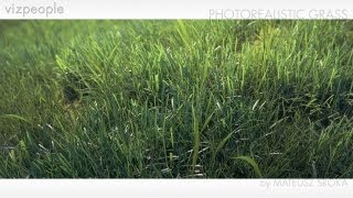 getlinkyoutube.com-VIz-People Photorealistic Grass Tutorial