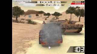 getlinkyoutube.com-Burnin Rubber 3 me defeating the tank with no guns!