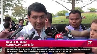 CAMILO ROMERO PIDE VERDADERA INVERSIÓN PARA NARIÑO