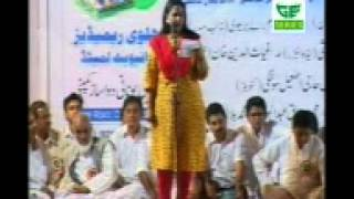 getlinkyoutube.com-Lata Hayat M.H is presenting her Kalam in a Mushaira