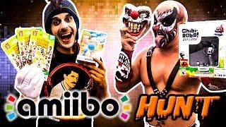getlinkyoutube.com-Amiibo Hunt Yarn Yoshis and Chibi Robo Zip lash - yoshi's wooly world - karcamo gaming
