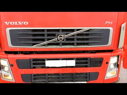 Фара Вольво ФШ ФМ (Volvo FH FM 12 13) проверка проводки,замена лампочек,противоту манные,автопоезд
