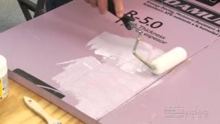 getlinkyoutube.com-Family Train Layout: episode 2 - install foam scenery board