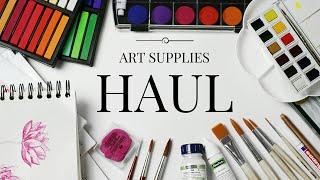 getlinkyoutube.com-Art Supply Haul!