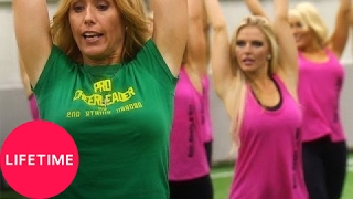 getlinkyoutube.com-Bring It!: The Dolls Dance with Professional Cheerleaders (S1, E22) | Lifetime
