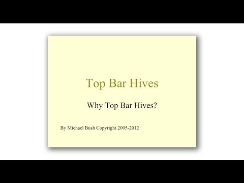 Michael Bush, Top Bar Hives