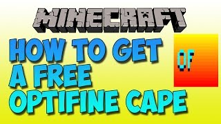 getlinkyoutube.com-[NO Mods]How to get a FREE Optifine Cape [Everyone Can See][2016][Free PayPal Cash]
