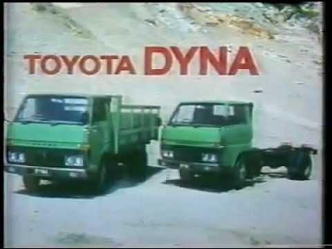 Inilah iklan truck Toyota Dyna jaman dulu. Artis bintang utamanya petinju Muhammad Ali. Yang suka iklan dengan tipe ini, klik WOW ya?