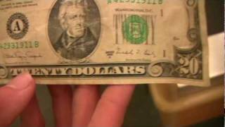 1988 20 Dollar Bill - YouTube