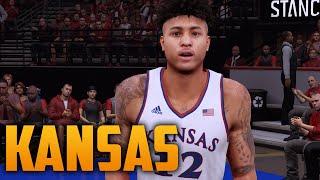 getlinkyoutube.com-NBA 2K16 2015-16 Kansas Jayhawks Court & Jersey Tutorial