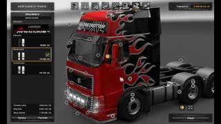 getlinkyoutube.com-[ETS2]Euro Truck Simulator 2 Vovlo FH 2009 Mega mod v 1.0