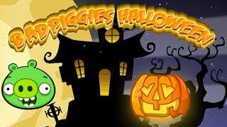 getlinkyoutube.com-Bad Piggies Halloween Walkthrough - Halloween Games