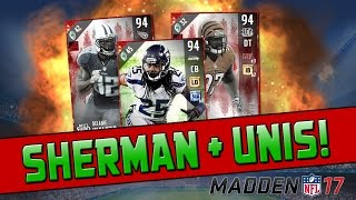 getlinkyoutube.com-94 Richard Sherman & New MUT Gear Sets! | Madden 17 Ultimate Team - Pro Pack Opening