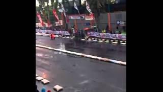 getlinkyoutube.com-Road Race Scooter At Gor Satria-purwokerto 2015