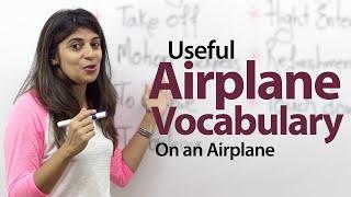 getlinkyoutube.com-On an Airplane - English Vocabulary Lesson