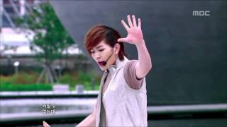 getlinkyoutube.com-SHINee - Lucifer, 샤이니 - 루시퍼, Music Core 20100911