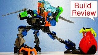 getlinkyoutube.com-Lego HeroFactory 44028 SURGE & ROCKA Combat Machine - Build Review (레고 히어로팩토리 장난감)