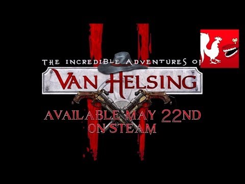 Geoff and Gavin check out Van Helsing II for Steam - Achievement Hunter Presents