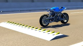 getlinkyoutube.com-Spike Strip High Speed Testing - BeamNG DRIVE Part 2
