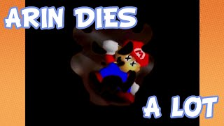 getlinkyoutube.com-Arin's Deaths Compilation - Game Grumps: Super Mario 64 [EPs 01-FINALE]