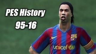 getlinkyoutube.com-Pro Evolution Soccer History: 95-16 (Winning Eleven) PES