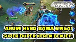 Singa dalam MOBA! Emejing! Super KEREN! Arum! - Arena of Valor AOV