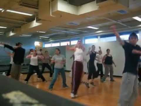 Tari Mannello Dance Choreography to Wassup / What's up at 24 Hour Fitness 2002