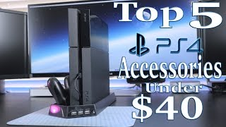 Top 5  PS4 Accessories Under $40