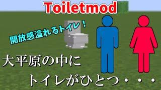 getlinkyoutube.com-【マインクラフト】MOD紹介!! めっちゃリアルなトイレを追加するMOD!!