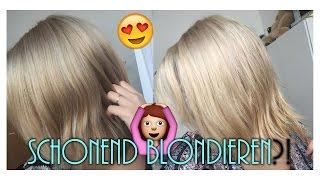 getlinkyoutube.com-SCHONEND BLONDIEREN? MIT KOKOSÖL?! - Ich helle meine Haare auf! :)