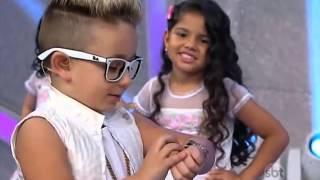 "getlinkyoutube.com-MC BENI canta Sonhar ""MC GUI"" (Parte1) - Programa Raul Gil SBT 27/12/2014"