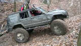 getlinkyoutube.com-Jeep Cherokee Unimog Extreme XJ