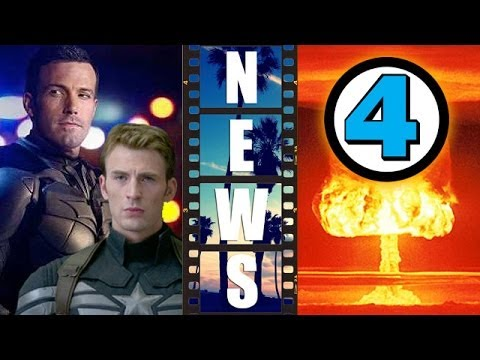 Captain America 3 vs Batman Superman 2016, Michael B Jordan NOT Human Torch?! - Beyond The Trailer