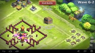 getlinkyoutube.com-castle clash - th 11 base design for hbm G