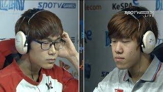 getlinkyoutube.com-[프로리그2014] 주성욱(KT) vs 한지원(IM) 1세트 연수 -EsportsTV,프로리그