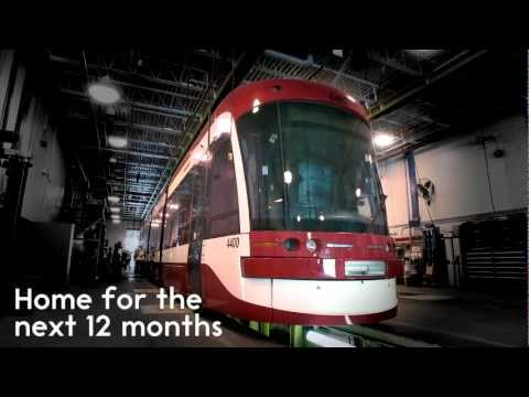 Toronto's New Low-Floor Streetcar Arrives