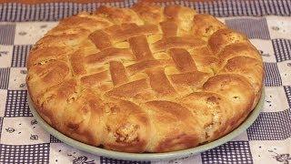 getlinkyoutube.com-Pogača sa sirom - Homemade Bread with Cheese