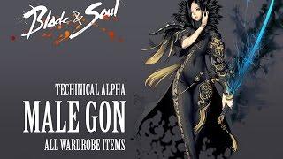 getlinkyoutube.com-Blade & Soul All Costumes ( Male Gon )