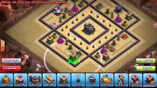 getlinkyoutube.com-Clash of clans - Best War base ( TH9 ) ANTI 2 STAR